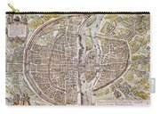Paris Map, 1581 Carry-all Pouch