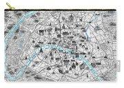 Paris Monumental Carry-all Pouch