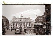 Paris Opera 1935 Sepia Carry-all Pouch