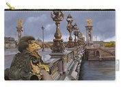 Paris-pont Alexandre IIi Carry-all Pouch by Guido Borelli