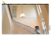 Paris Rodin Museum Staircase - Rod Iron Black Staircase Archictecture - Paris Museum Staircase Print Carry-all Pouch