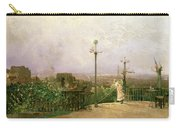 Paris Seen From The Heights Of Montmartre Carry-all Pouch by Jean dAlheim