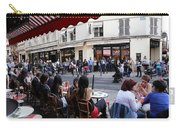 Paris Street Life 5 Carry-all Pouch