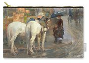 Paris Street Scene Carry-all Pouch