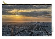 Paris Sunset Carry-all Pouch