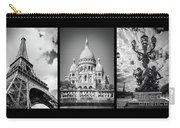 Paris Triptych Carry-all Pouch