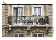 Paris Windows Carry-all Pouch by Elena Elisseeva