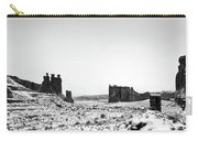 Park Avenue At First Light - Arches National Park Carry-all Pouch