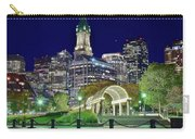 Park Entrance In Boston Carry-all Pouch