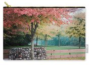 Park In Autumn/fall Colors Carry-all Pouch