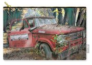 Parked On A Country Road Watercolors Painting Carry-all Pouch