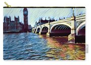 Parliament Across The Thames Carry-all Pouch