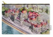 Parliment Of Hungary Carry-all Pouch by Charles Hetenyi