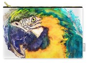 Parrot Ara Watercolor Painting Carry-all Pouch