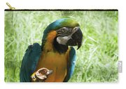 Parrot Eating Nut Carry-all Pouch