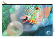 Parrot Fish - Through A Bubble Carry-all Pouch