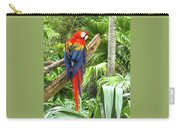 Parrot In Tropical Setting Carry-all Pouch