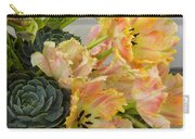Parrot Tulips And Desert Succulents Carry-all Pouch