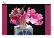 Parrot Tulips On The Windowsill Carry-all Pouch
