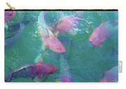 Parrotfish Of The Keys Carry-all Pouch