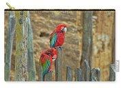 Parrots, Doue-la-fontaine Zoo, Loire, France Carry-all Pouch