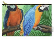 Parrots In Light And Shade Carry-all Pouch