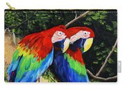 Parrots In The Jungle Carry-all Pouch
