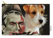 Parson Russell Terrier Art Canvas Print - Rear Window Movie Poster Carry-all Pouch