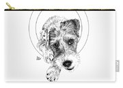 Parson Russell Terrier @elmo.parson Carry-all Pouch