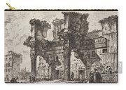 Parte Di Foro Di Nerva Carry-all Pouch