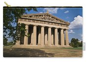 Parthenon Nashville Tennessee From The Shade Carry-all Pouch