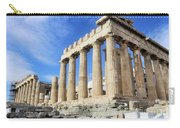 Parthenon On Acropolis In Athens Greece Carry-all Pouch