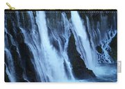 Partial Side View Of Burney Falls Ca Carry-all Pouch
