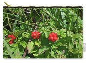 Partridgeberries Carry-all Pouch