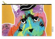 Party Cat- Art By Linda Woods Carry-all Pouch