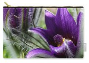 Pasque Flower Duo Carry-all Pouch