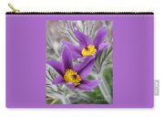 Pasque Flower Friends Carry-all Pouch