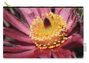 Pasque Flower Macro Carry-all Pouch