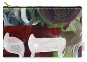 Passages 2- Abstract Art By Linda Woods Carry-all Pouch