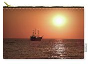Passing By In Calm Waters Carry-all Pouch