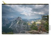 Passing Clouds Over Half Dome Carry-all Pouch