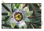 Passion Flower Close-up Carry-all Pouch