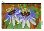 Passion Flower Power Carry-all Pouch