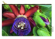 Passion Flower Ver. 17 Carry-all Pouch