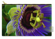 Passion-fruit Flower Carry-all Pouch