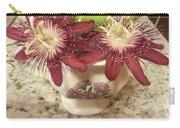 Passion Vine Flower Carry-all Pouch
