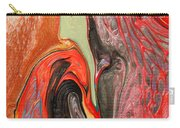 Passionate Waves Abstract Painting Carry-all Pouch