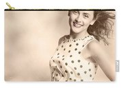 Past Hairstyles Pinup Carry-all Pouch