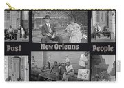 Past New Orleans People Carry-all Pouch