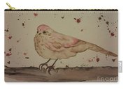 Pastel Bird Carry-all Pouch